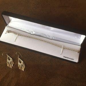 Jewelry - Diamond Accent Tennis Bracelet Platinum/silver WOW